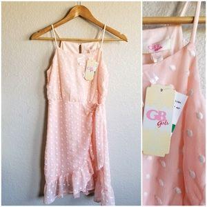 Gianni Binni Big Girl Dress blush pink 10